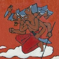 Imagination Chariot The Ramayana Clock