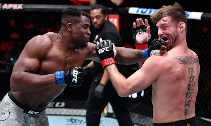 Francis Ngannou Fatally Knocks Out Stipe Miocic To Claim UFC Heavyweight Title