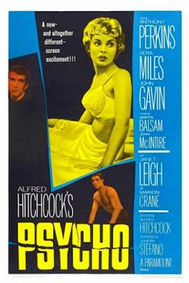 Psicosis otra entrada de Alfred Hitchcock en esta lista, Psycho (1960)