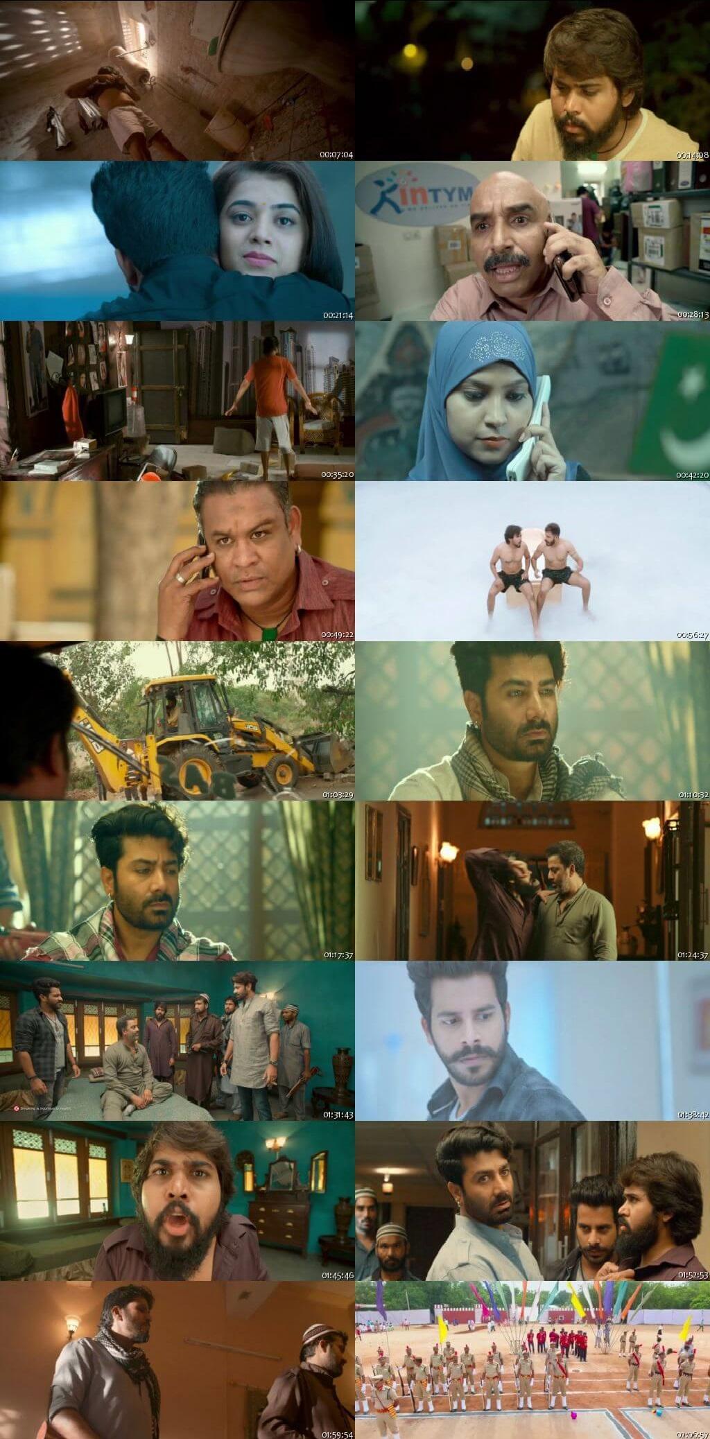 Screen Shot Of Tollywood Movie Bhale Manchi Chowka Beram 2018 Full Movie In Hindi Dubbed Free download 720P HD
