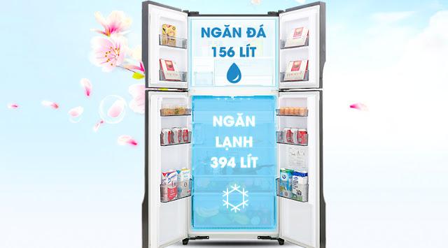 Tủ lạnh Panasonic Inverter 550 lít NR-DZ600MBVN
