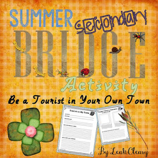 Secondary Summer Bridge Activity