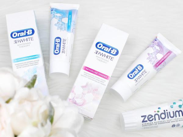 3x Nieuwe Oral-B & Zendium Tandpasta
