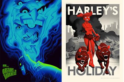 Batman The Animated Series Screen Prints Release #1 by Phantom City Creative x Mondo