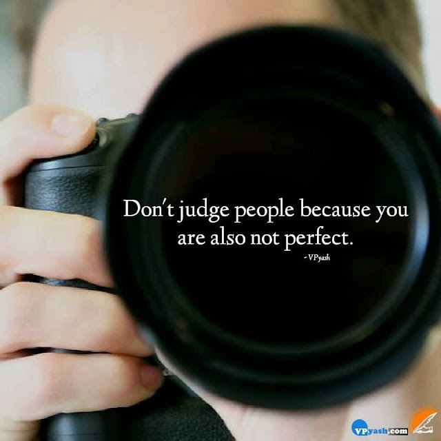 Being Success You Can Teach But Not Judge Others