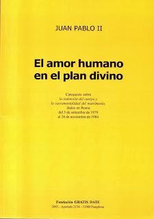 El amor humano en el plan divino