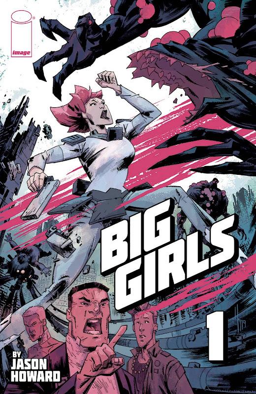 Cover of Image Comics' Big Girls #1