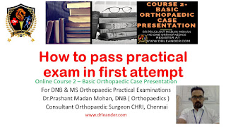 how to pass practical orthopaedic exam in first attempt