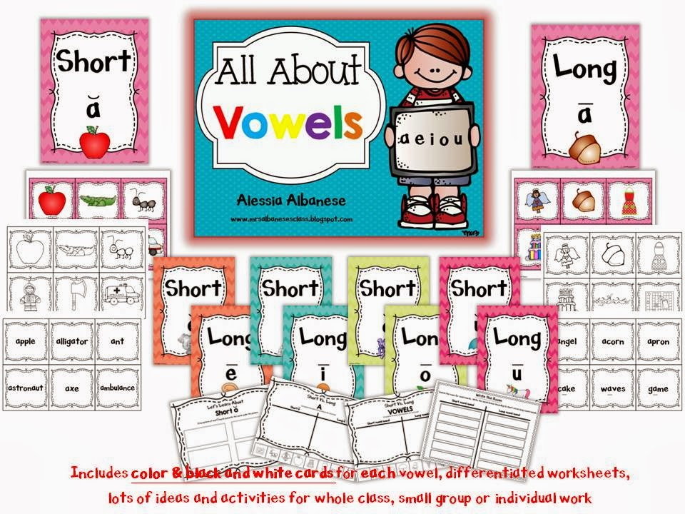 http://www.teacherspayteachers.com/Product/All-About-Vowels-1129379