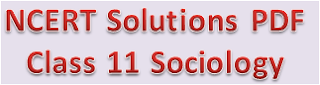NCERT Solutions For Class 11 Introducing Sociology