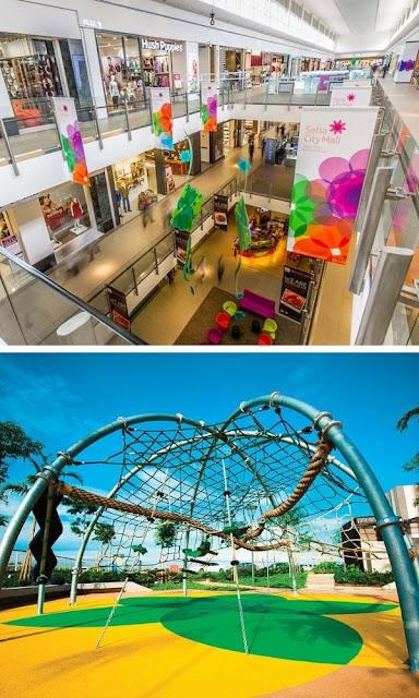 Setia City Mall dalaman premis perniagaan