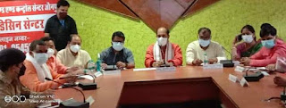 मेडिकल कॉलेज में अगस्त से एमबीबीएस की कक्षाएं शुरू हो जायेंगी:उपेंद्र तिवारी    #NayaSaberaNetwork