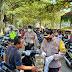 Antisipasi Kerumunan Saat Libur Nasional, Polres HSU dan Tim Gugus Tugas Kabupaten HSU Tegakan Pendisiplinan Protokol Kesehatan di Tempat Keramaian