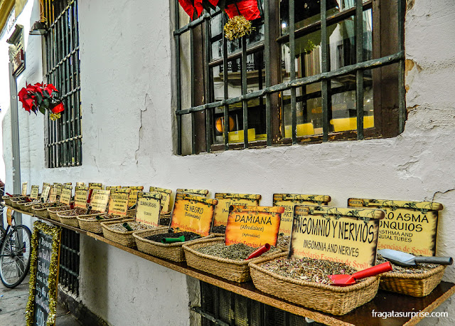 casa especializada em ervas medicinais em Santa Cruz, Sevilha