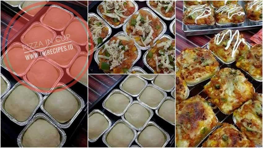 Resep Membuat Pizza In Cup Praktis
