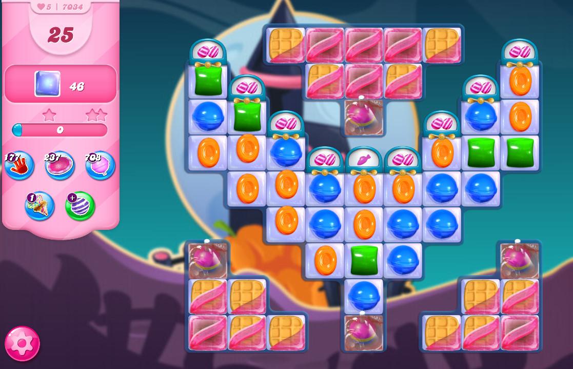 Candy Crush Saga level 7034