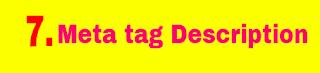 Meta tag description - Logo