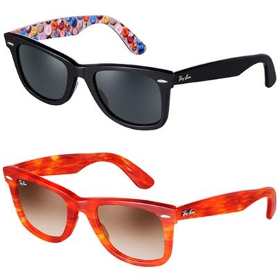 f350ef5abf743 Las gafas tienen como característica sobresaliente el sin fin de  combinaciones de colores que proponen. Ray-Ban plantea una colección de  diseño ...