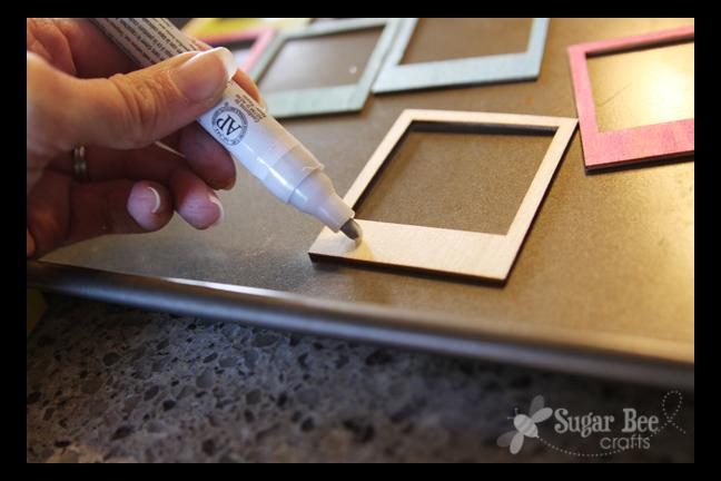 Photo Frame Banner (mini) - DIY Tutorial! - Sugar Bee Crafts