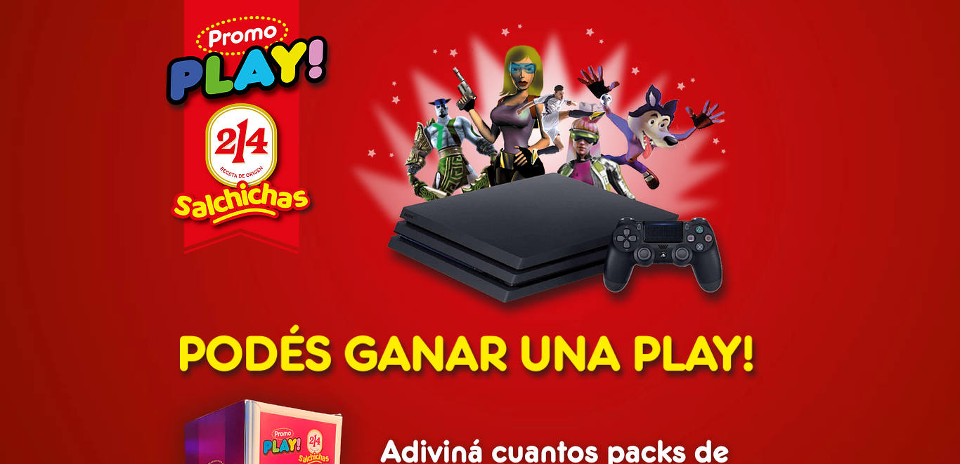 Promo Play Salchicas 214 2021