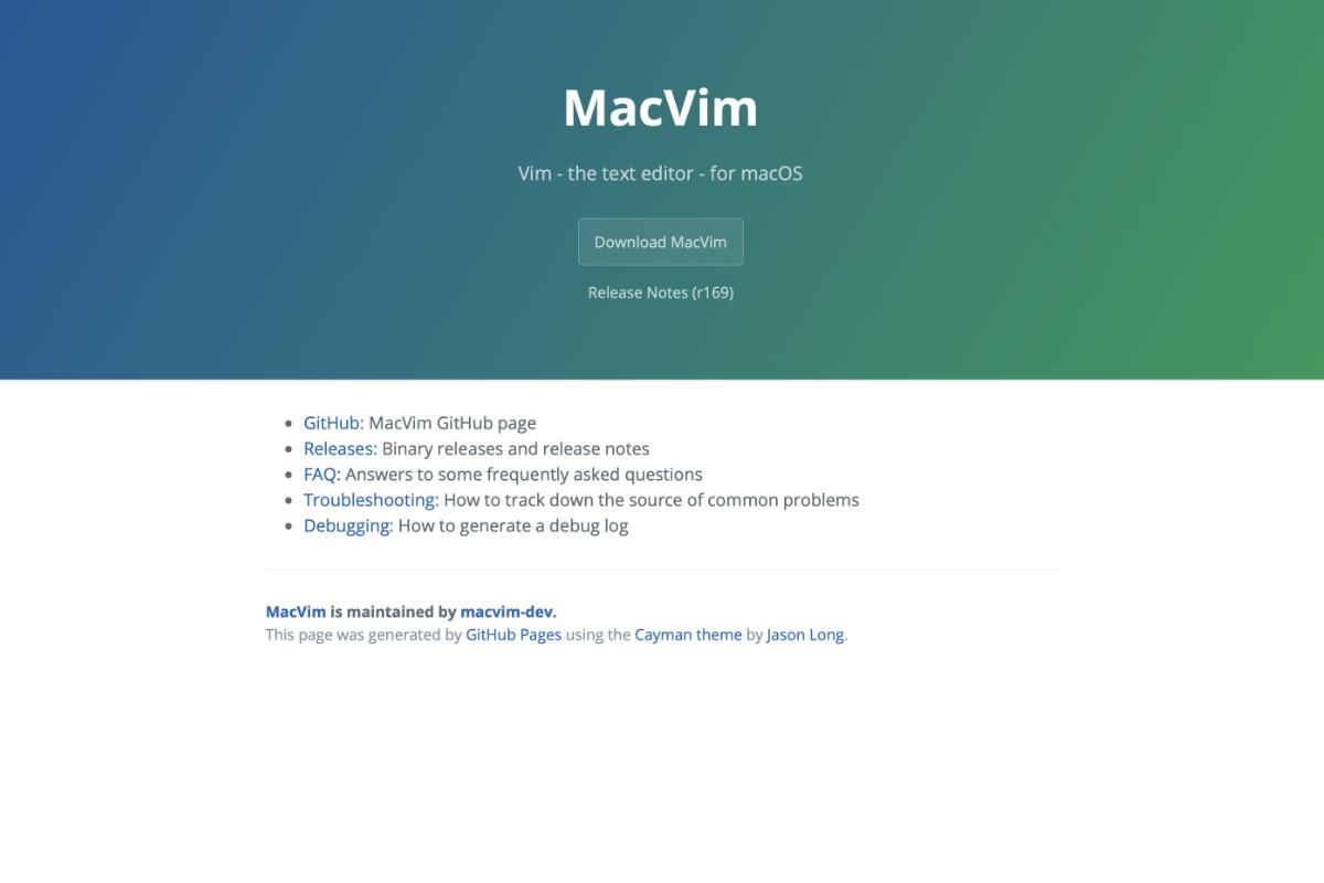 Come installare Vim su macOS