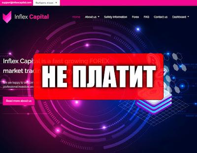 Скриншоты выплат с хайпа inflexcapital.com