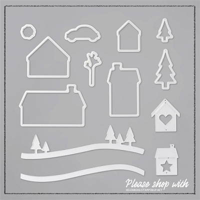 Home Together Dies Stampin Up ideas