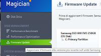 Come Aggiornare il firmware SSD