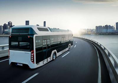 Autocarro movido a hidrogénio
