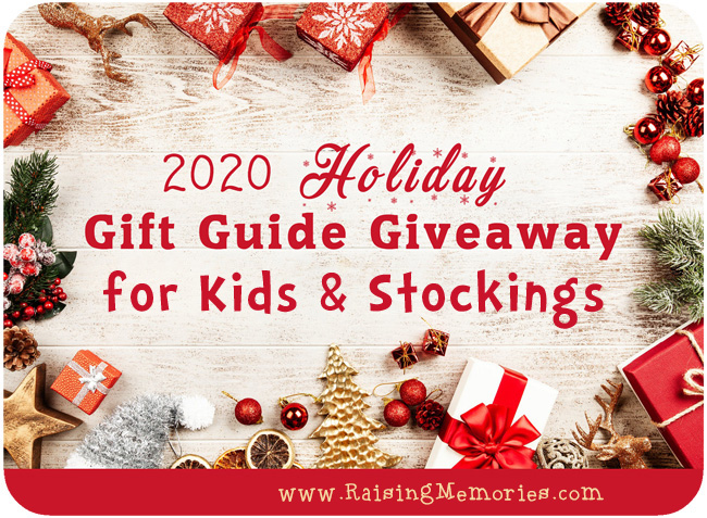 2020 Holiday Gift Guide Giveaway for Kids & Stocking Stuffers