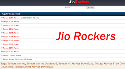 Jio Rockers- Jio Rockers Telugu Movies Download 2020