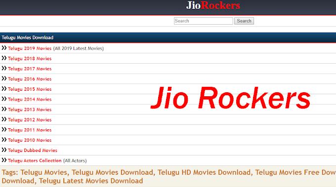 Jio Rockers- Jio Rockers Telugu Movies Download 2020