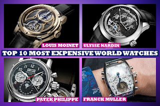 Top 10 Most Expensive Watches in the World, Luxury Watch, Top Costlier Watch in the World
