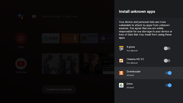 Enable-installation-unknow n-sources-mi-tv-stick