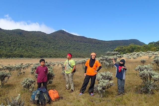 Pengalaman Pertama Mengajak Anak Mendaki Gunung Gede via Gunung Putri