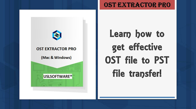 OST file to PST file transfer