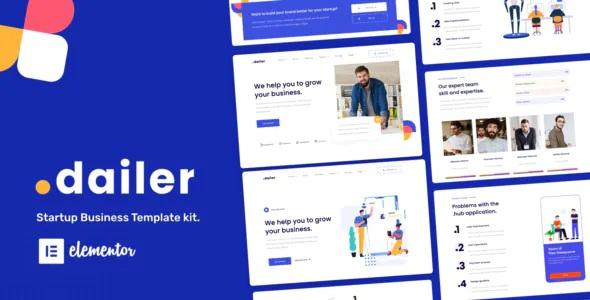 Best Startup Elementor Template Kit