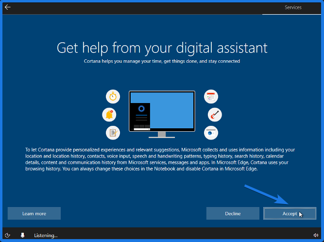 Cortana Feature