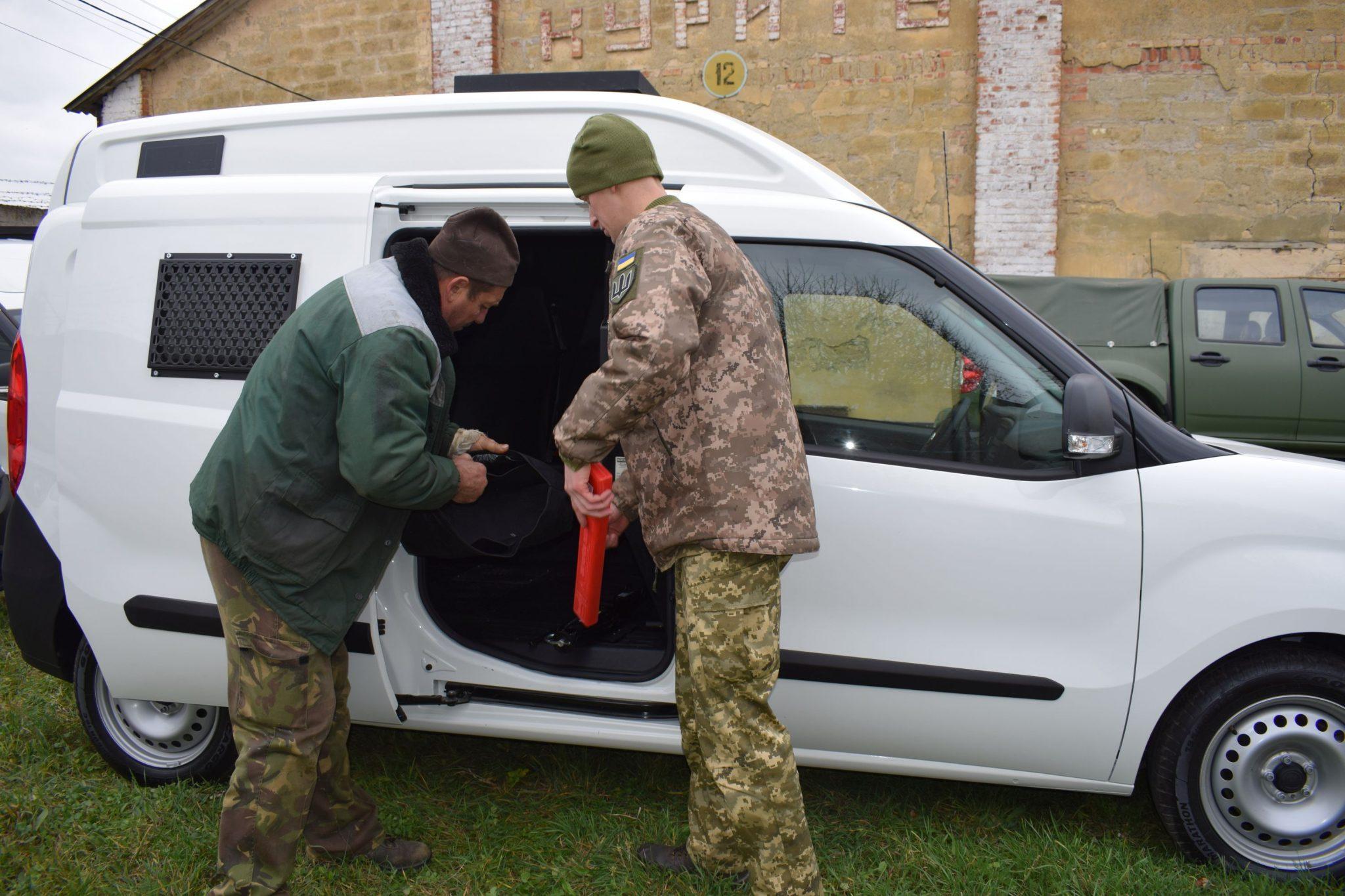 ВСП отримають партію автівок для перевезення затриманих