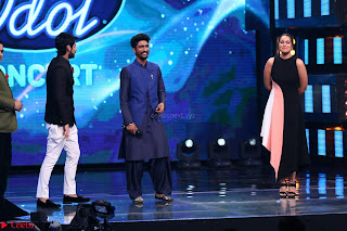 Sonakshi Sinha on Indian Idol to Promote movie Noor   IMG 1569.JPG