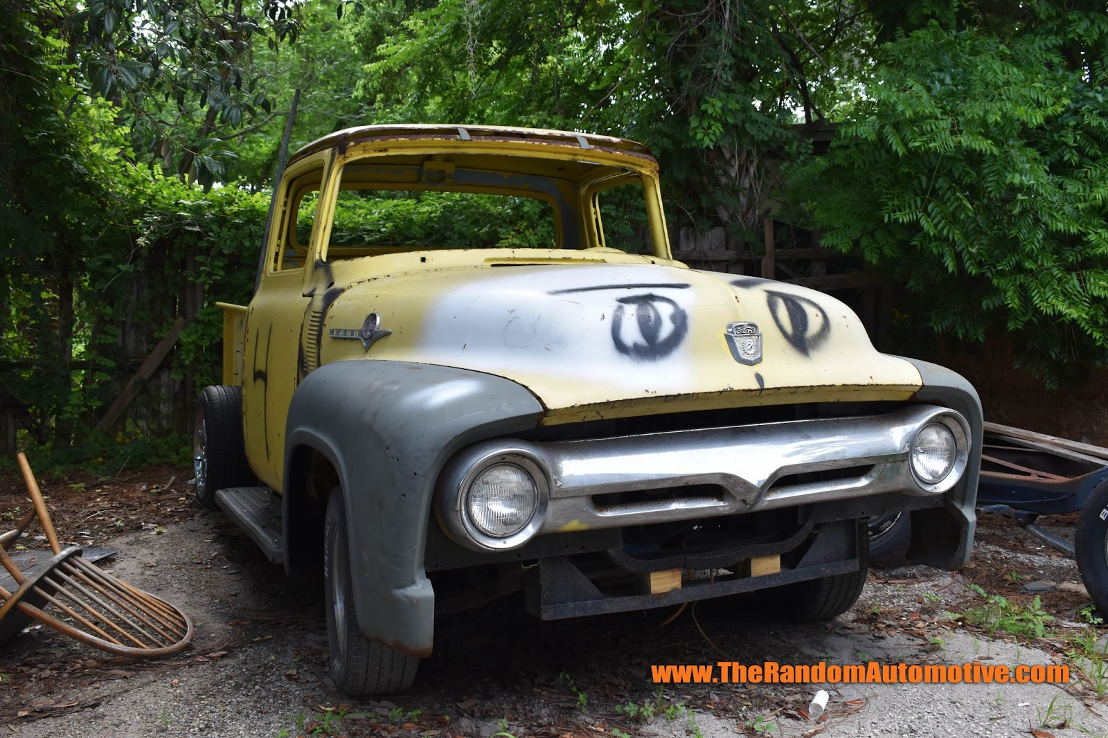 Rotting In Style - 1956 Ford F100 ~ The Random Automotive