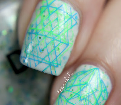 Different Dimension Neon Double Stamping