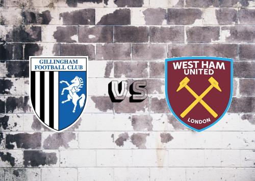 Gillingham vs West Ham United  Resumen