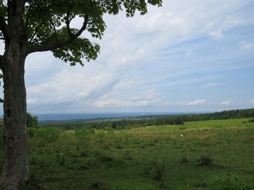 view across Seneca Lake