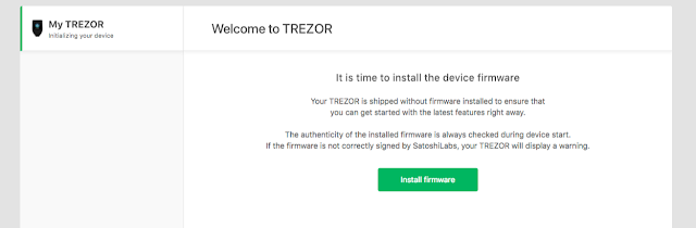 Cara Setup Wallet Trezor Model T