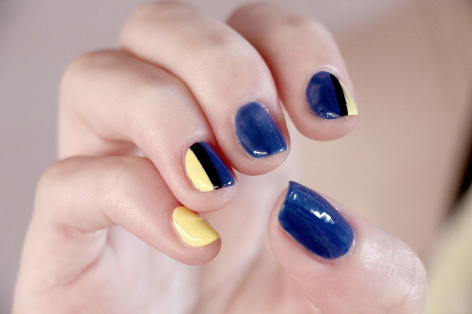 Finding Dory nail art