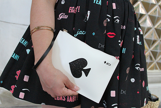 Kate Spade Las Vegas Playing Card Wristlet | Will Bake for Shoes
