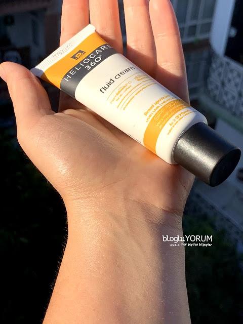 heliocare 360 fluid cream kullananlar swatch 1