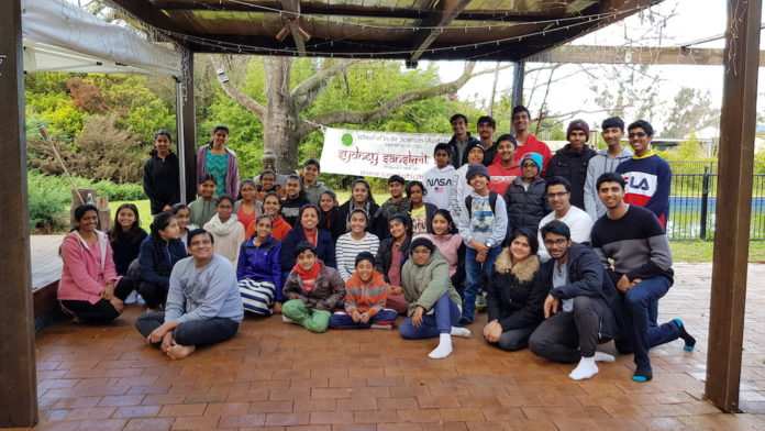 the students of Sydney Sanskrit School