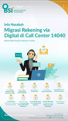 Migrasi Rekening ke BSI